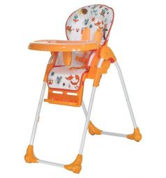 Стульчик для кормления Everflo Quartet Q35, цвет: Orange