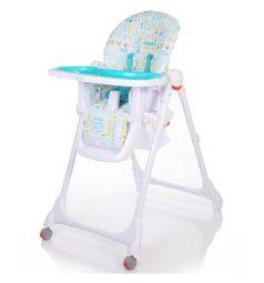 Стульчик для кормления Baby Care Fiesta, цвет: синий