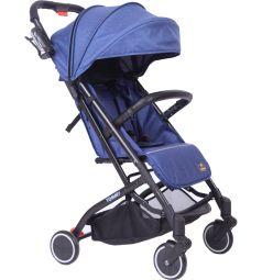 Прогулочная коляска Tommy Trip, цвет: синий