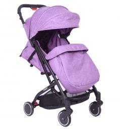 Прогулочная коляска Tommy Trip, цвет: фиолетовый