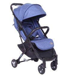 Прогулочная коляска Tommy Travel, цвет: синий