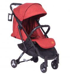 Прогулочная коляска Tommy Travel, цвет: красный