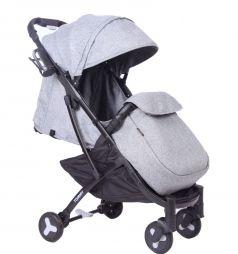 Прогулочная коляска Tommy Travel, цвет: серый