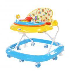 Ходунки Baby Care Sonic, цвет: желтый/синий