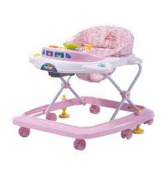 Ходунки Baby Care Tom&Mary, цвет: розовый