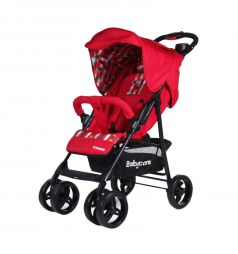Прогулочная коляска Baby Care Voyager, цвет: red 17