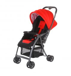 Прогулочная коляска Jetem Uno, цвет: red 16