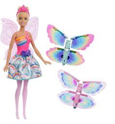 Кукла Barbie Дримтопия Фея с крыльями 29 см
