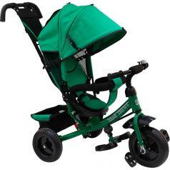 Трехколесный велосипед Sweet Baby Mega Lexus Trike 8/10 EVA, цвет: green