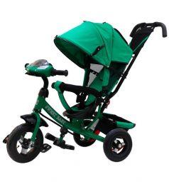 Трехколесный велосипед Sweet Baby Mega Lexus Trike 8/10 Air Music bar, цвет: green