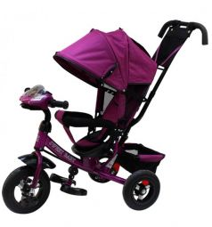 Трехколесный велосипед Sweet Baby Mega Lexus Trike 8/10 Air Music bar, цвет: violet