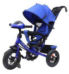 Трехколесный велосипед Sweet Baby Mega Lexus Trike 10/12 Air Music bar, цвет: Blue