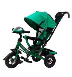 Трехколесный велосипед Sweet Baby Mega Lexus Trike 10/12 Air Music bar, цвет: green