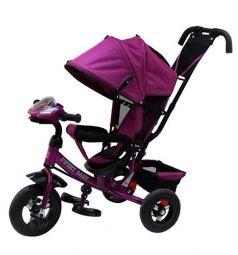 Трехколесный велосипед Sweet Baby Mega Lexus Trike 10/12 Air Music bar, цвет: violet