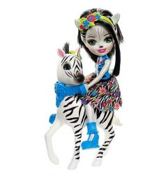 Кукла Enchantimals Zelena zebra hoofetie