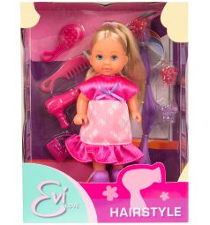 Кукла Evi супер-волосы с сиреневой прядью