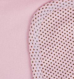 Babyglory Плед Надписи 90 х 90 см, цвет: розовый
