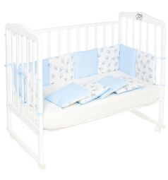 Бортик в кроватку Sweet Baby Gelato Blu