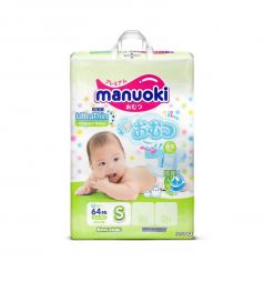 Подгузники Manuoki (3-6 кг) 64 шт.