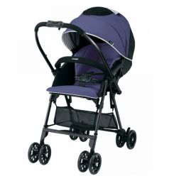 Прогулочная коляска Combi Mechacal Handy Light S, цвет: purple