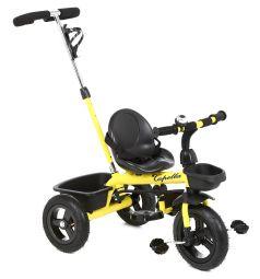 Велосипед Capella 6187, цвет: желтый