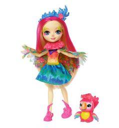 Кукла Enchantimals Пикки Попугай и Блик 15 см