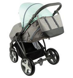 Прогулочная коляска Bexa Poland iX, цвет: мятный/серый