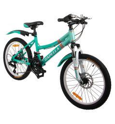 Велосипед Capella G20A704, цвет: мятный