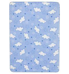 Funecotex Одеяло Облачка 98 х 138 см, цвет: голубой