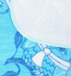 Funecotex Одеяло 110 х 118 см, цвет: голубой