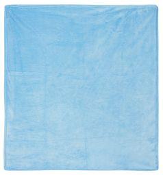 Funecotex Плед 100 х 118 см, цвет: голубой