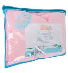 Funecotex Плед 100 х 118 см, цвет: розовый