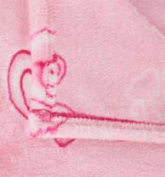Funecotex Плед Мишки 100 х 140 см, цвет: розовый