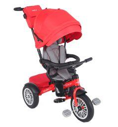 Детский трехколесный велосипед McCan M-1, цвет: красный