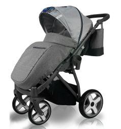Прогулочная коляска Bexa Poland iX, цвет: серый