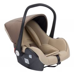 Автокресло Leader Kids Baby Leader Comfort II, цвет: бежевый/коричневый