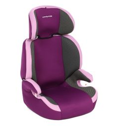 Автокресло Leader Kids Регата, цвет: розовый/фиолетовый