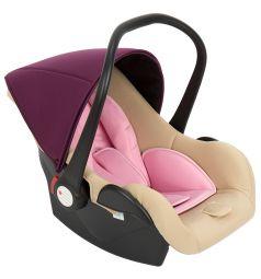Автокресло Leader Kids Baby Leader Comfort II, цвет: бежевый/розовый