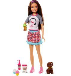 Кукла Barbie Сестры и щенки Skipper 29 см