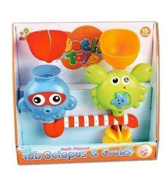 Набор для игры в ванне Shantou Gepai Осьминог и Крабик
