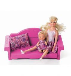 Мебель для куклы Огонек Диван раскладной Зефир