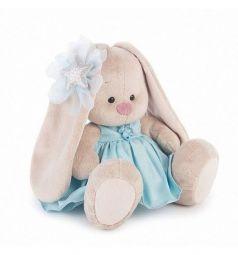 Мягкая игрушка Зайка Ми ЗайкаМи в голубом платье со звездой 23 см