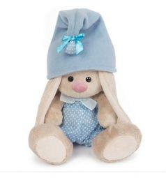 Мягкая игрушка Зайка Ми ЗайкаМи гномик в голубом 15 см