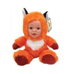 Кукла мягконабивная Fluffy Family Мой лисенок 20 см