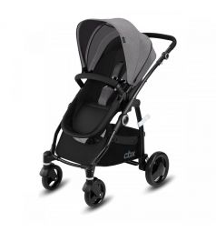 Коляска 2 в 1 Cybex Leotie Pure, цвет: comfy grey