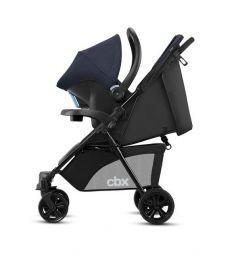 Прогулочная коляска Cybex Woya с автокреслом (0+), цвет: jeansy blue