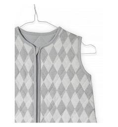 Jollein Конверт Diamond 90 см, цвет: серый