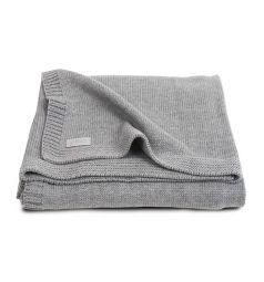 Jollein Плед Natural knit 75 х 100 см, цвет: серый