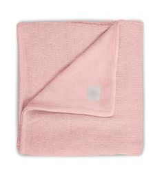 Jollein Плед Soft knit 100 х 150 см, цвет: бежевый