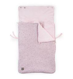 Jollein Конверт Confetti knit 42 х 82 х 7 см, цвет: розовый